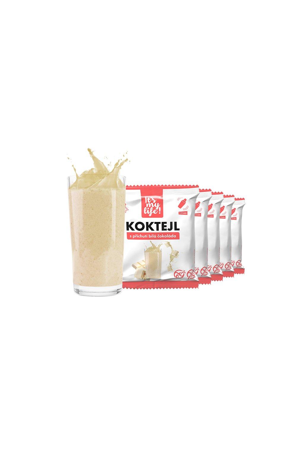 It's my life! Proteinový koktejl bílá čokoláda 200g (5 porcí)