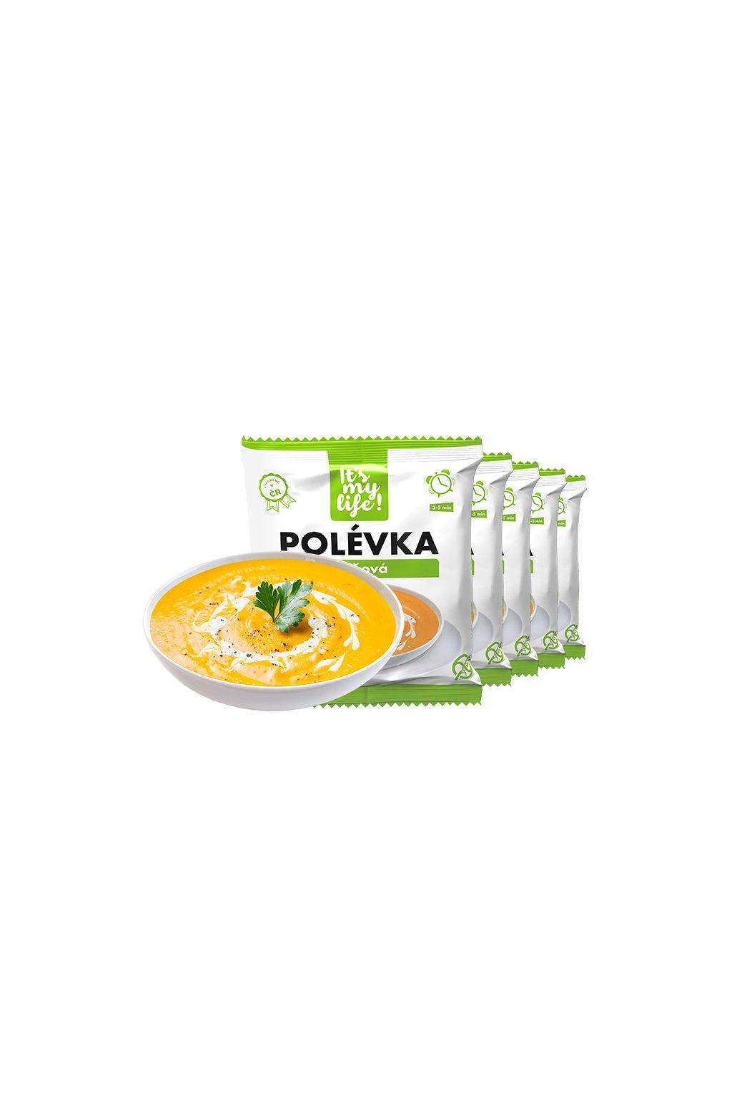 It's my life! Proteinová polévka dýňová 200g (1 porce)