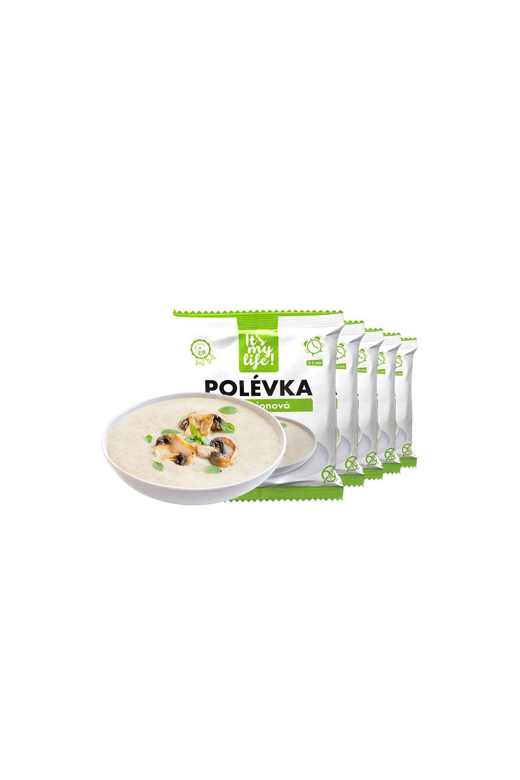 It's my life! Proteinová polévka žampionová 200g (1 porce)