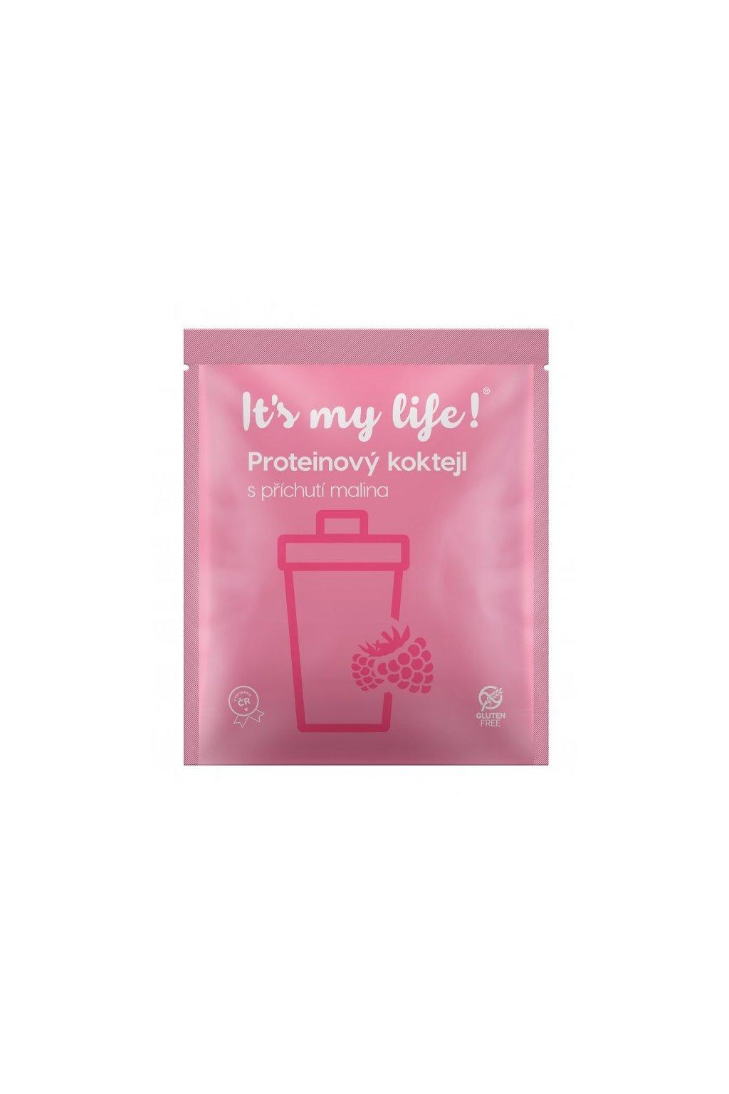 It's my life! Proteinový koktejl malina (stará receptura) 40g (1 porce)