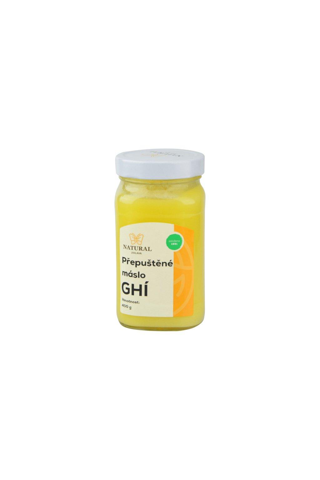 Ghí - přepuštěné máslo, 400 g