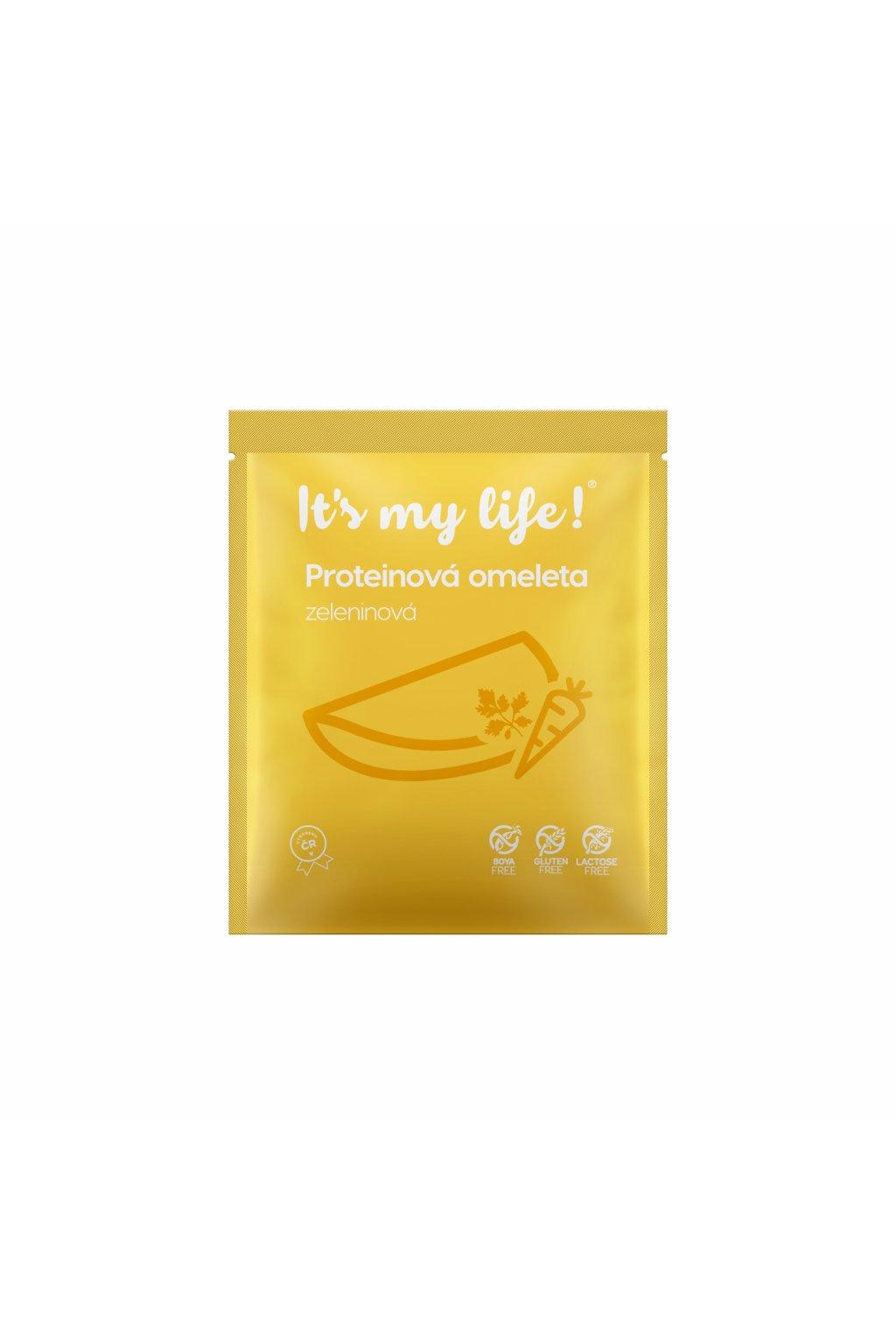 It's my life! Proteinová omeleta houbová (stará receptura) 40g (1 porce)