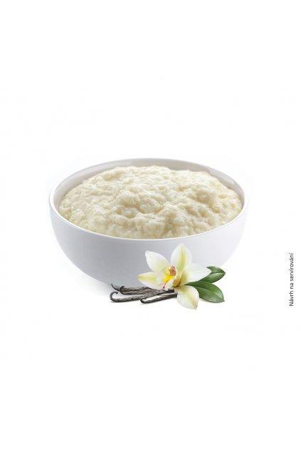 kase vanilka navrh na servirovani