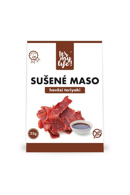 It's my life! Sušené maso hovězí teriyaki 25g (1 porce)