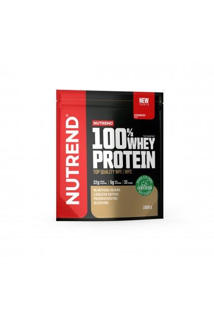 100% Whey protein, 1000g, Jahoda