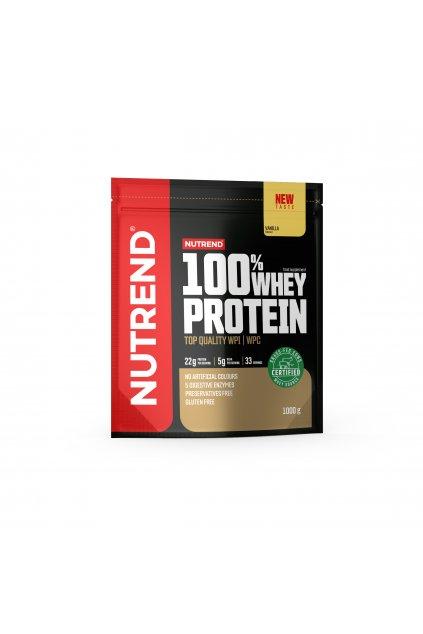 100% Whey protein, 1000g, Vanilka