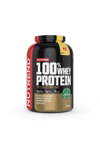 100% Whey protein, 2250g, Vanilka