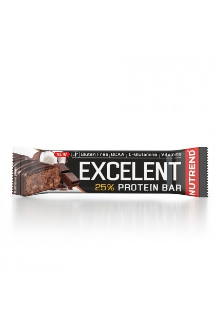 EXCELLENT protein bar čokoláda s kokosem, 85g
