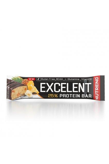 EXCELLENT protein bar vanilka s ananasem, 85g