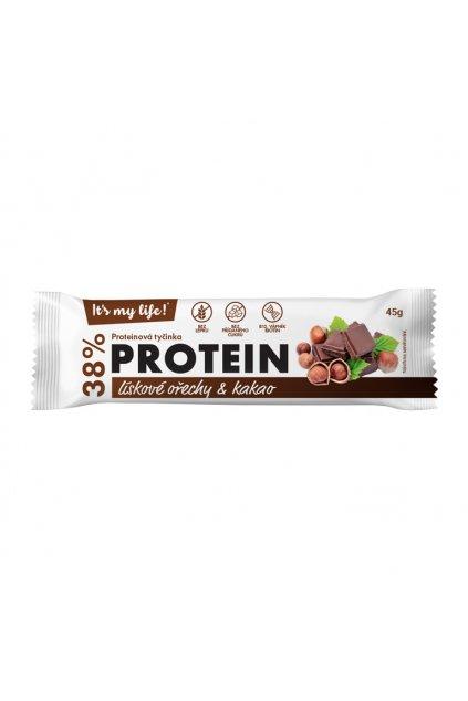 It's my life! Proteinová tyčinka lískové ořechy & kakao 45g