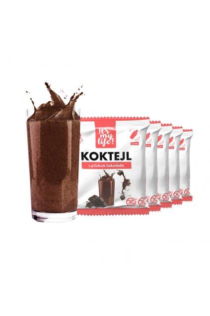 It's my life! Proteinový koktejl čokoláda 200g (5 porcí)