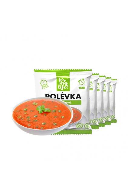 It's my life! Proteinová polévka rajčatová 200g (5 porcí)