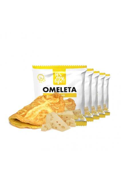 It's my life! Proteinová omeleta sýrová 200g (1 porce)