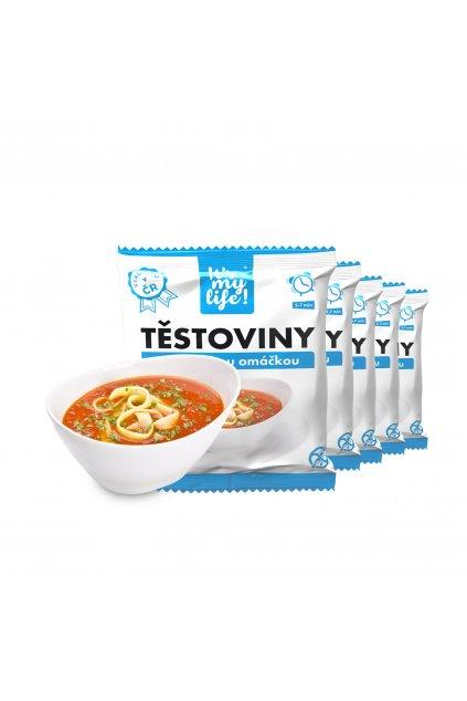 It's my life! Proteinové těstoviny s milánskou omáčkou (5 porcí)