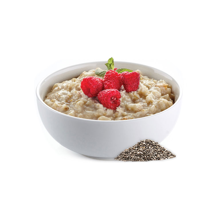 Levně Proteinová kaše malinová s chia semínky 40g (1 porce)