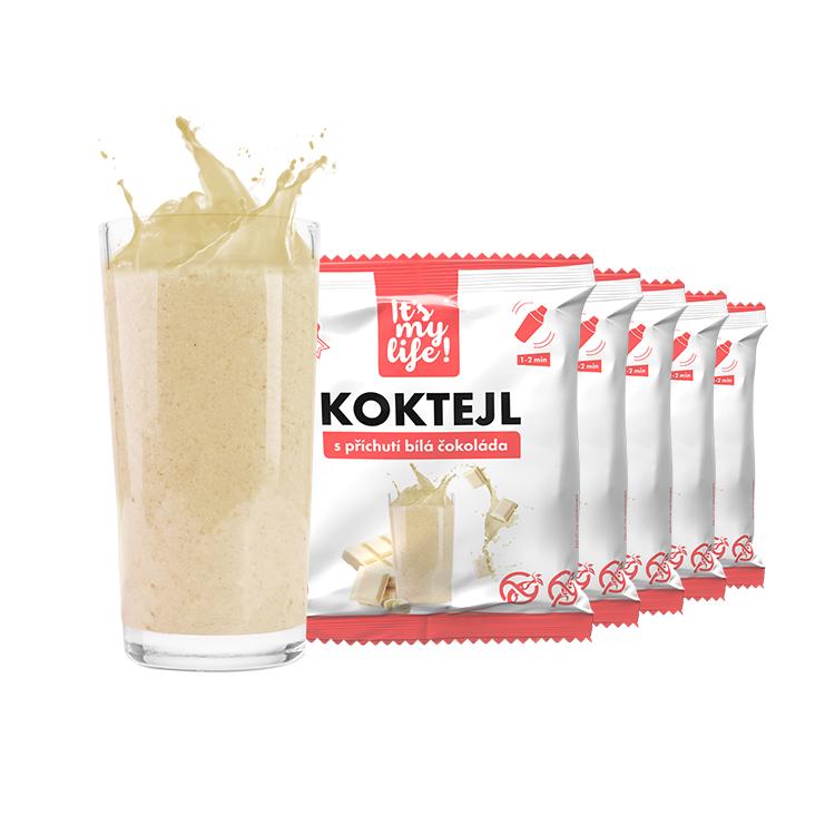Levně Proteinový koktejl bílá čokoláda 200g (5 porcí)