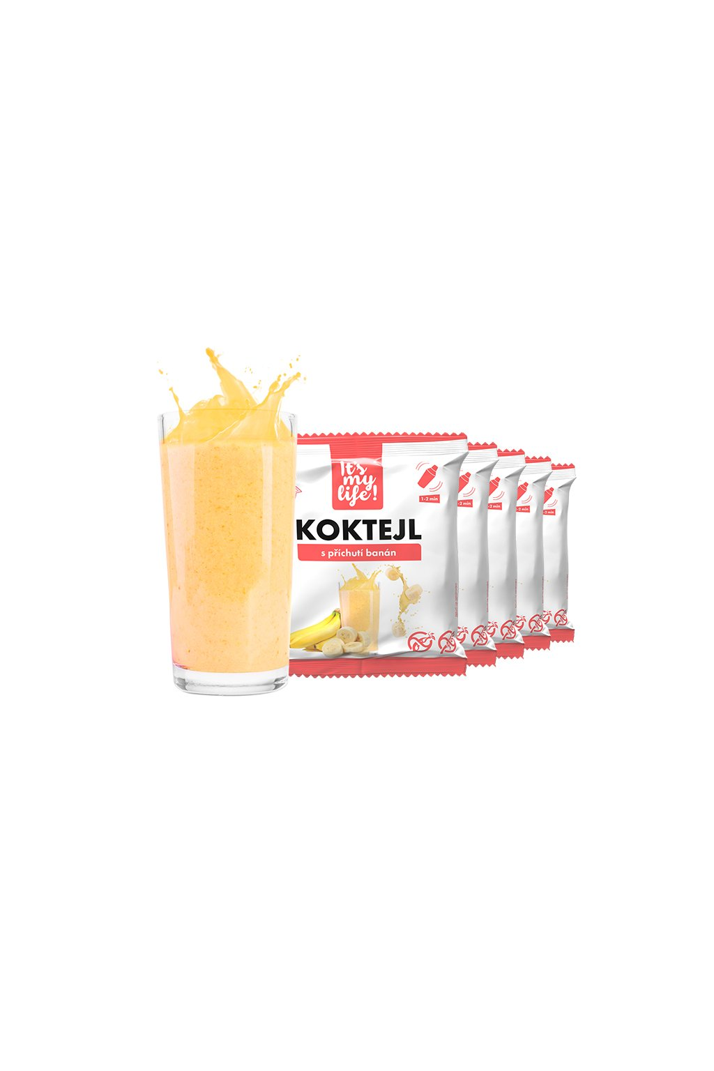 Banánové proteínové koktaily, 200g (5porcií)