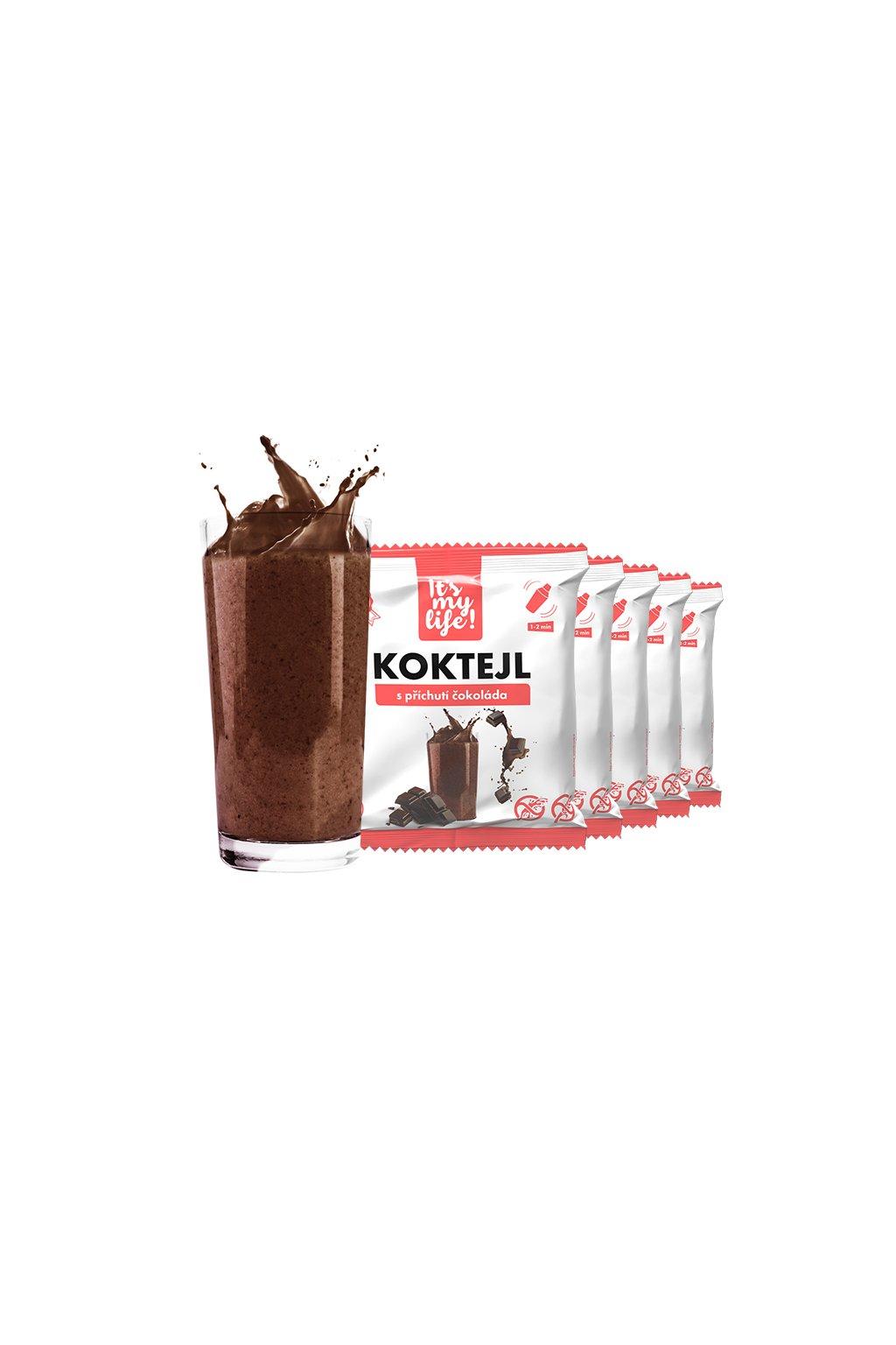 Čokoládové proteínové koktaily, 200g (5porcií)