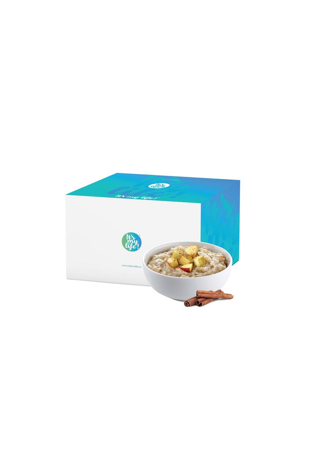 Proteínové kaše s príchuťou Jablko-škorica, 800g (20porcií)