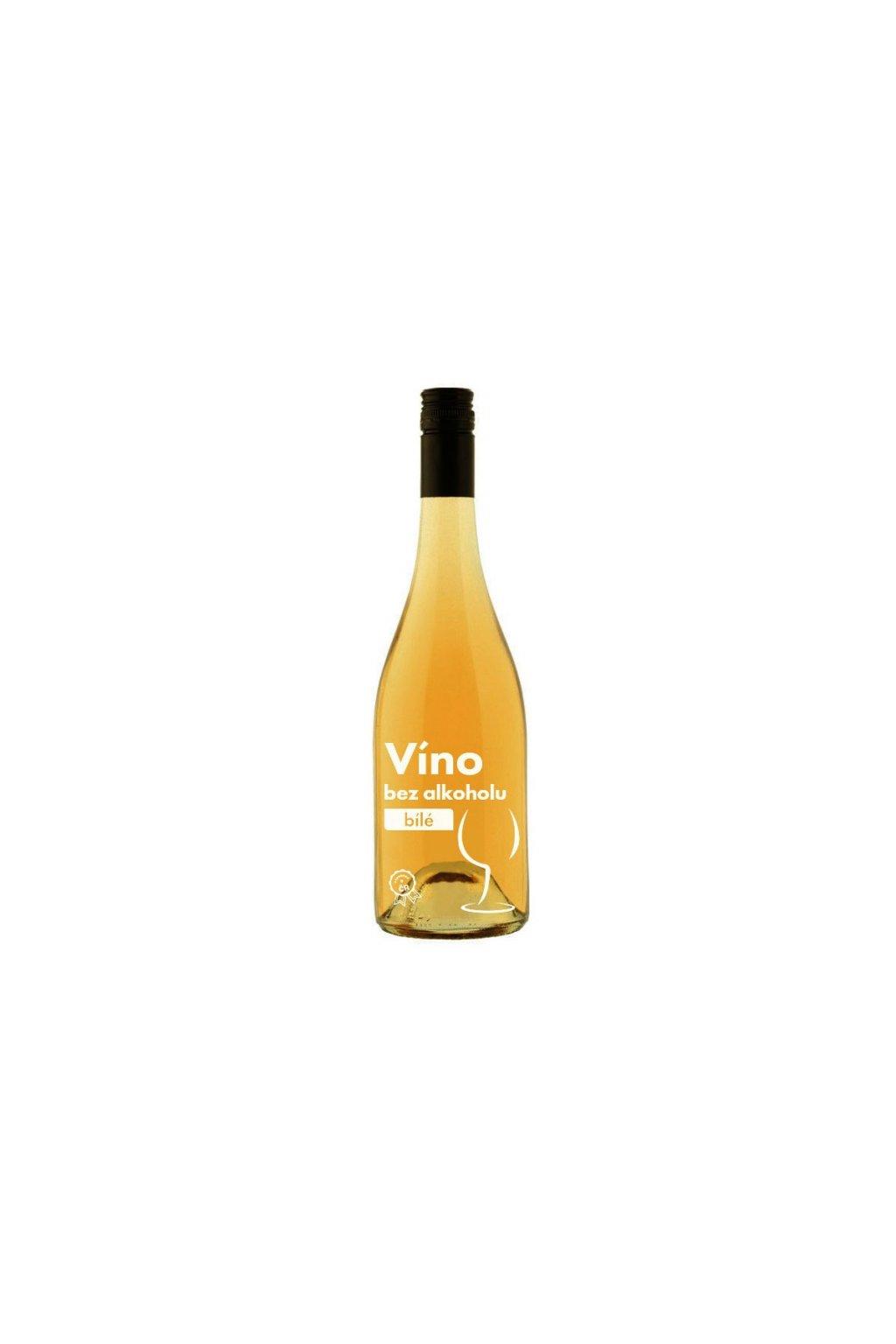 Nealkoholické víno biele, 750ml