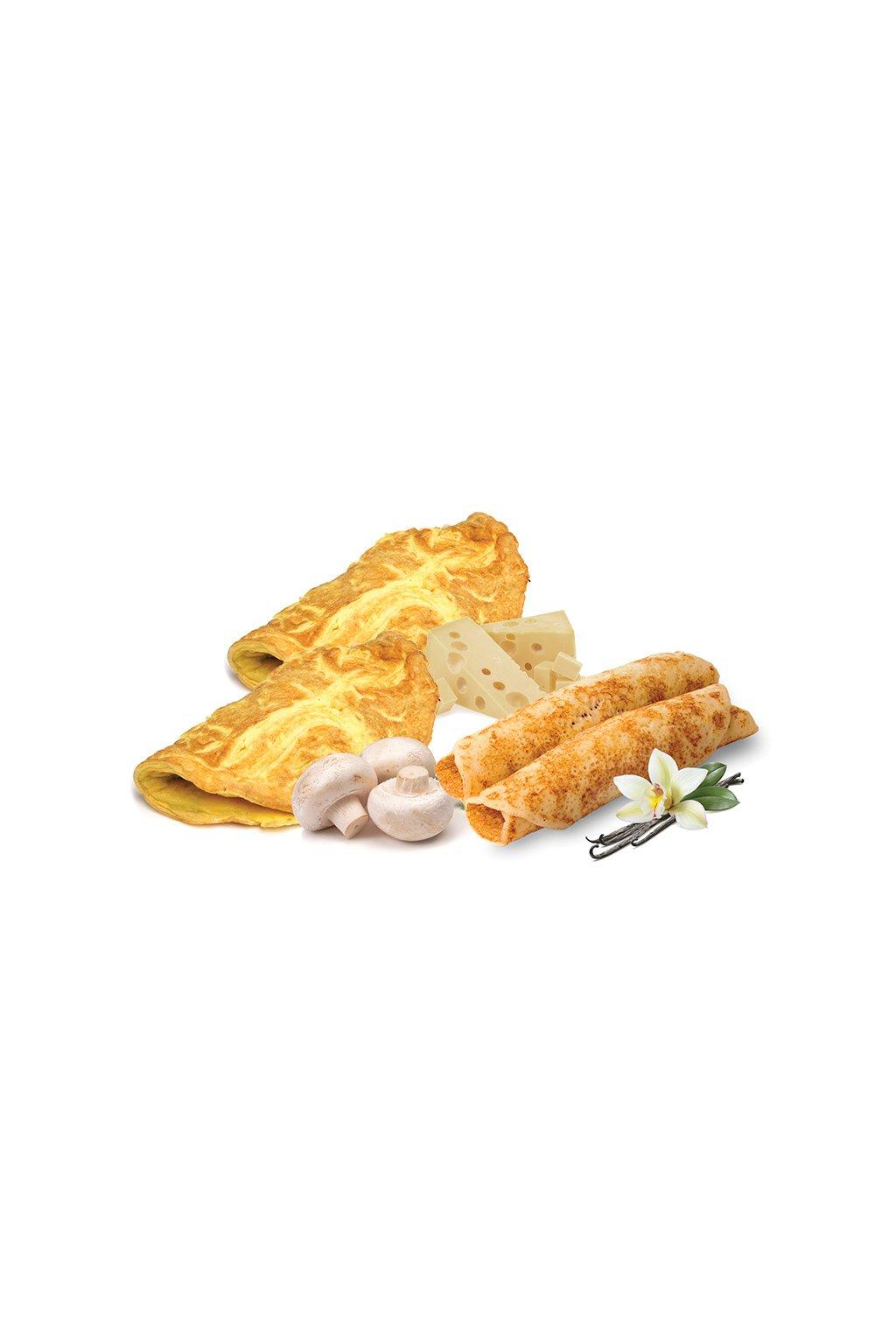 Ochutnávka proteínových omeliet, 120g (3porcie)