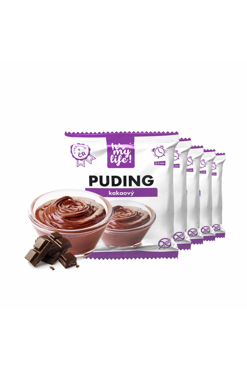 Kakaový proteínový puding, 175g (5porcií)