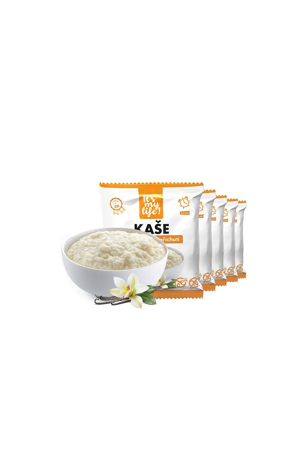 Vanilkové proteínové kaše, 200g (5porcií)