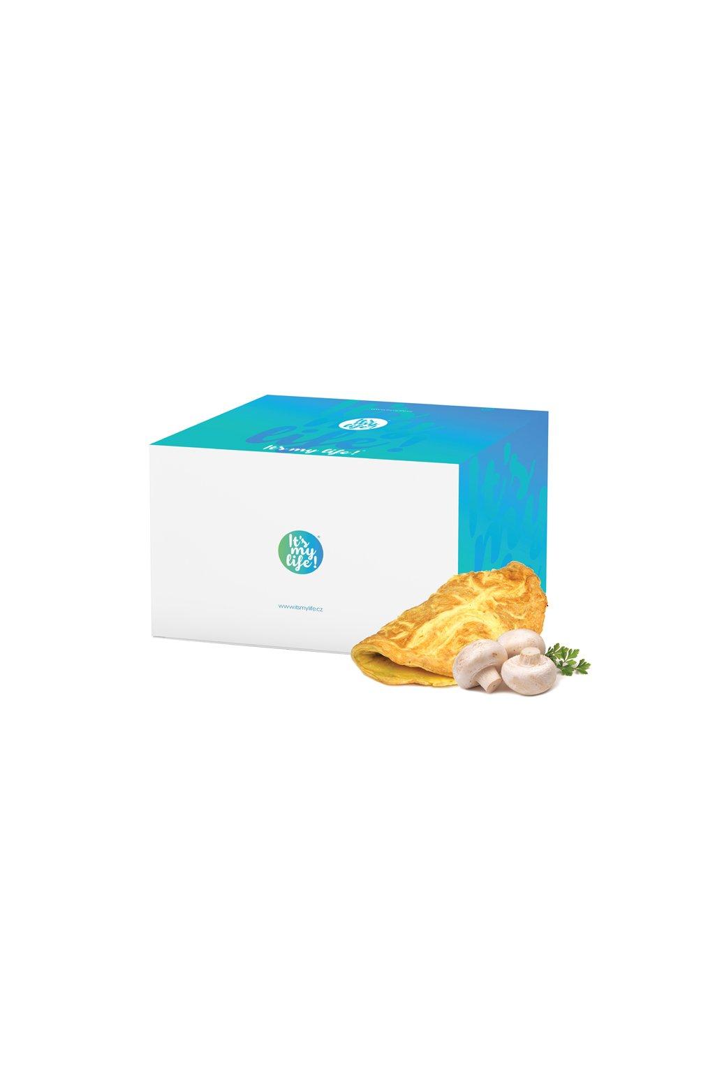 Šampiňónové proteínové omelety, 800g (20porcií)