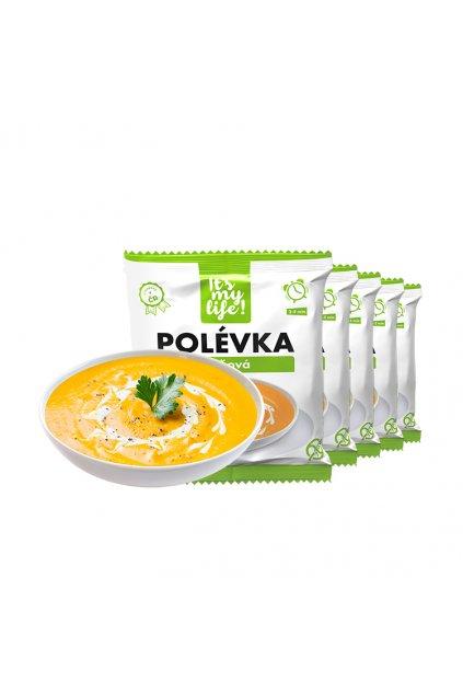 Tekvicové proteínové polievky, 200g (5porcií)