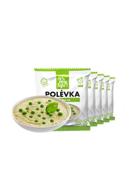 Hrachové proteínové polievky, 200g (5porcií)