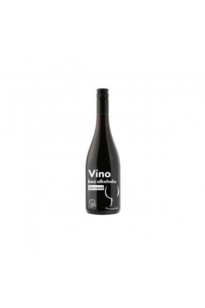 Nealkoholické víno červené, 750ml