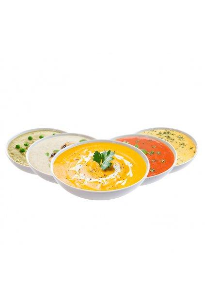 Ochutnávka proteínových polievok, 200g (5porcií)