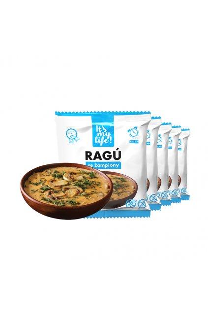 Proteínové ragú so šampiňónmi, 250g (5porcií)