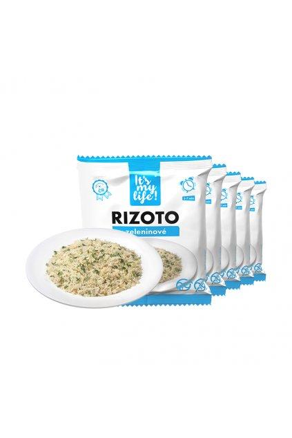 Proteínové zeleninové rizotá, 275g (5porcií)