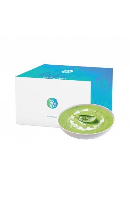 Špenátové proteínové polievky, 800g (20porcií)