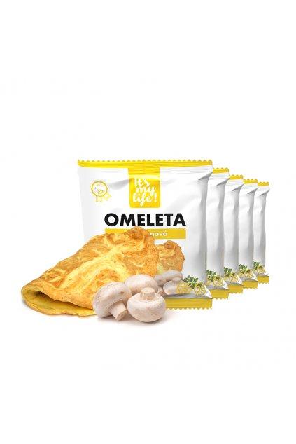 Šampiňónové proteínové omelety, 200g (5porcií)