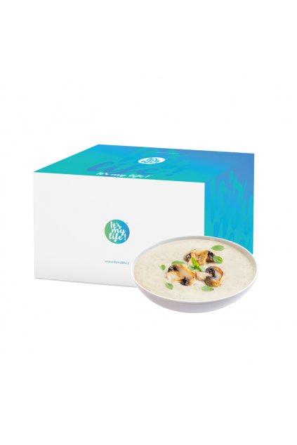 Šampiňónové proteínové polievky, 800g (20porcií)