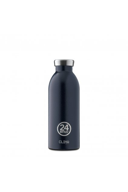 Bottles Clima 500Ml Water Bottle Rustic Deep Blue