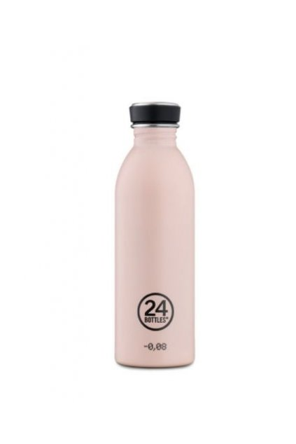 24Bottles Bottle Stone Dusty Pink 0,5l