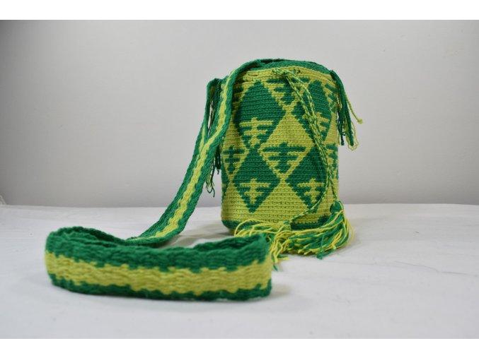 Taška Wayu přes rameno malá zelená