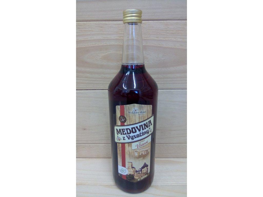 Medovina višňová 1L
