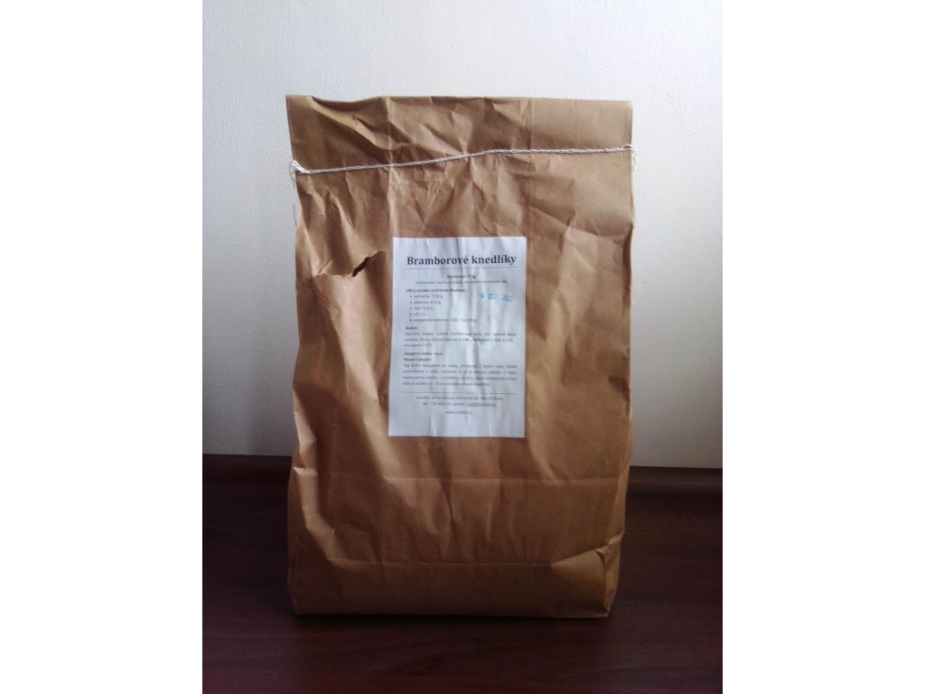 Bramborové knedlíky 5kg