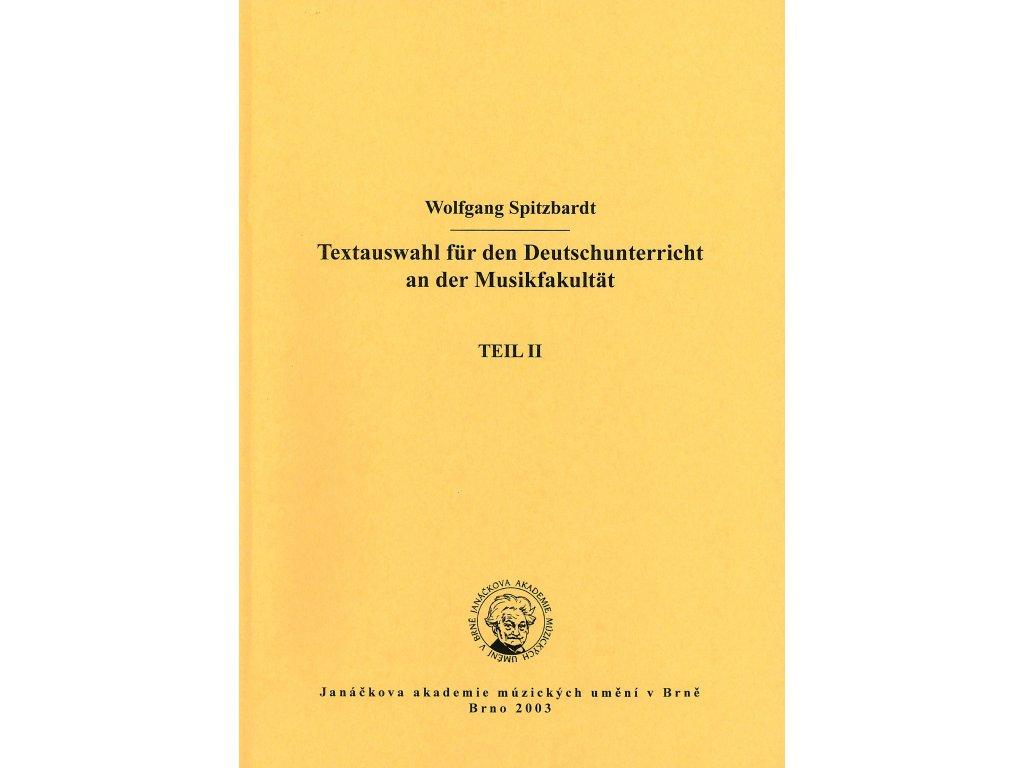 1225 textauswahl fur den deutschunterricht an der musikfakultat teil 2