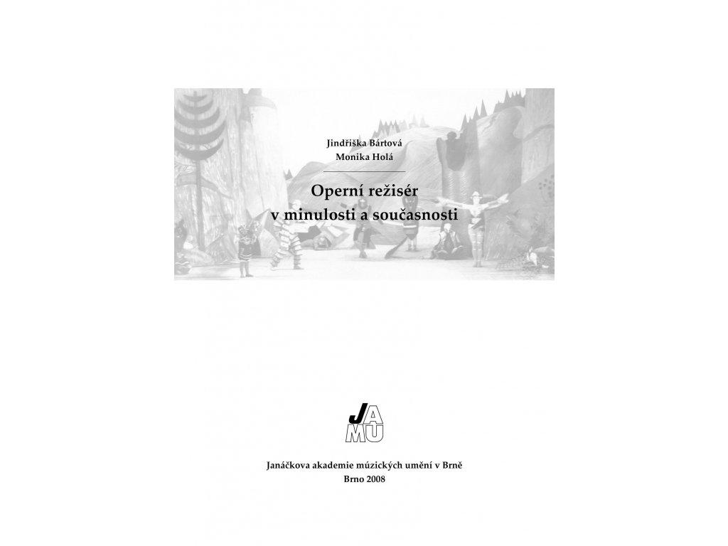 1336 operni reziser v minulosti a soucasnosti