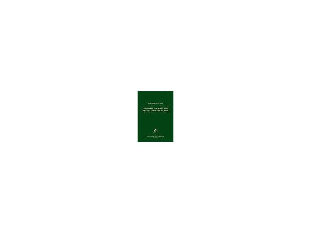 1441 formalni a interpretacni problematika smyccovych kvartetu miloslava istvana