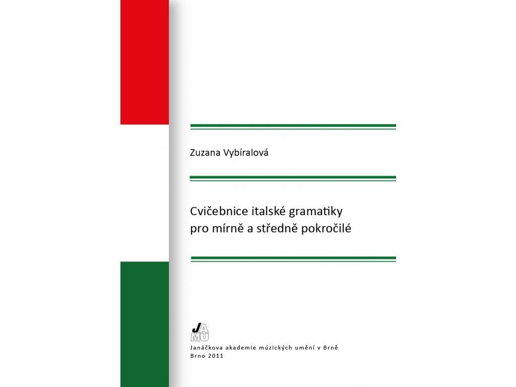 1486 cvicebnice italske gramatiky pro mirne a stredne pokrocile