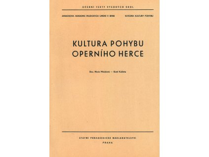 1063 kultura pohybu operniho herce