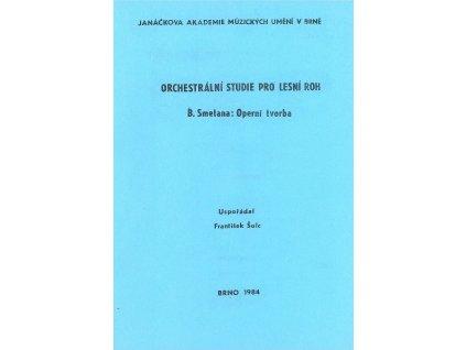 1111 orchestralni studie pro lesni roh b smetana operni tvorba