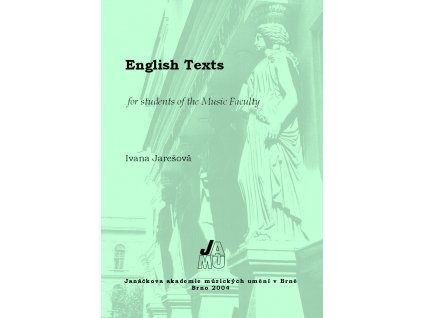 1237 english texts for students of the music faculty