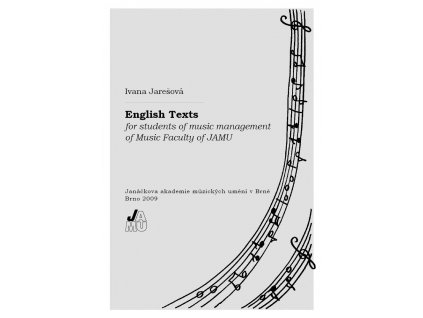 1390 english texts for students of music management of music faculty of jamu